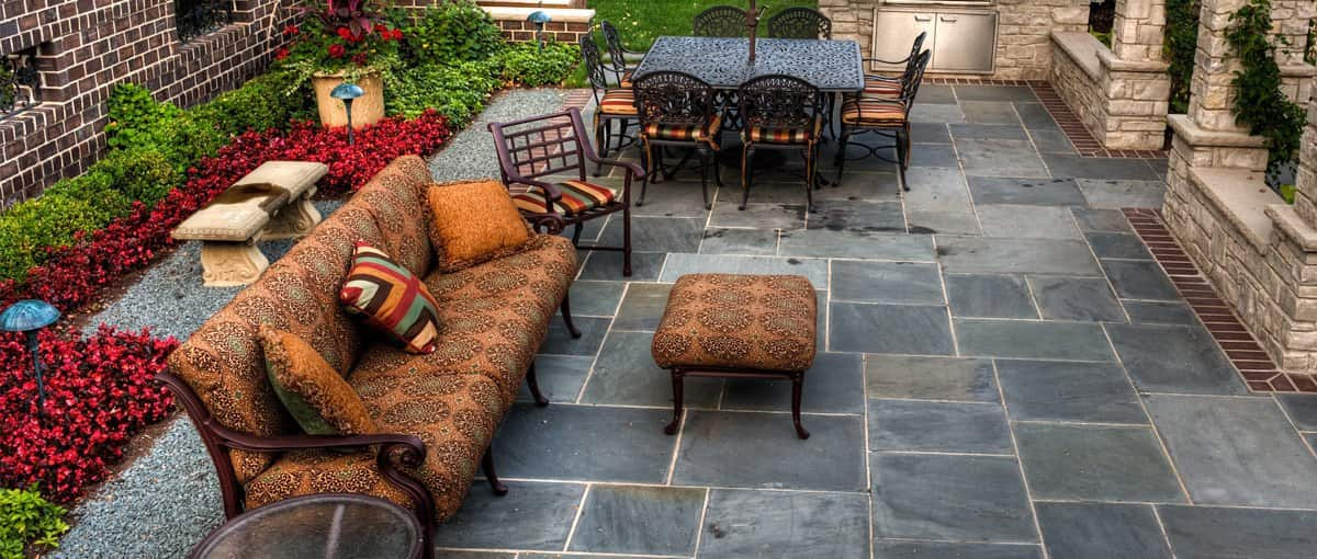 Lawn Area with sofas and chairs